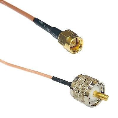 R SODIAL N Male Connector to RP-SMA Male Antenna Pigtail Cable 1M Q6F2 B3
