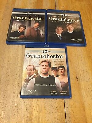 Masterpiece Mystery: Grantchester [Blu-ray] Seasons 1, 2 & 3 Lot
