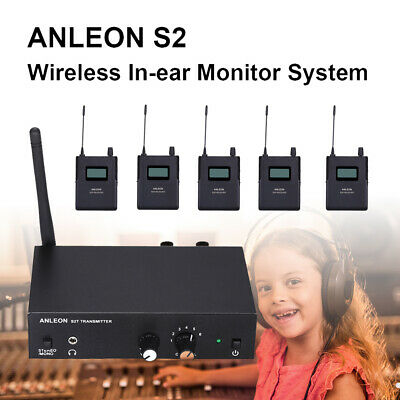 ANLEON S2 Wireless In-ear Stereo Personal In-ear Monitor System Stage 5 Receiver