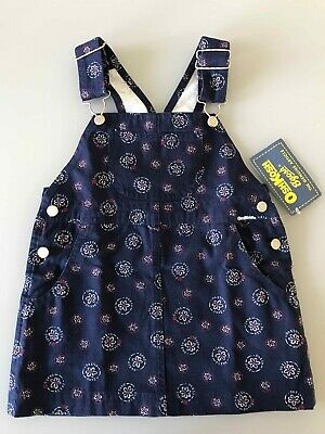 Girls   Oshkosh B'gosh Pinafore Dress  - Brand New -  3T
