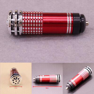 Red Universal Car Fresh Air Ionic Purifier Oxygen Bar Ozone Ionizer Cleaner New