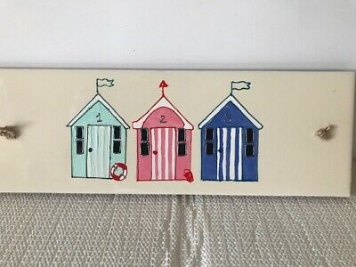 Ceramic Tile Wall Hanging Hand Painted 30 Cm X 10 Cm