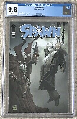 SPAWN #240 CGC 9.8 Low Distribution Scarce McFarlane Kudranski  Image Comics