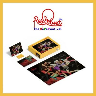 Red Velvet Puzzle 1000 Pieces Package The REVE Festival Edition Photocard+Poster