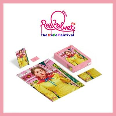 Red Velvet IRENE Puzzle 1000 Pieces Package The REVE Festival Photocard+Poster