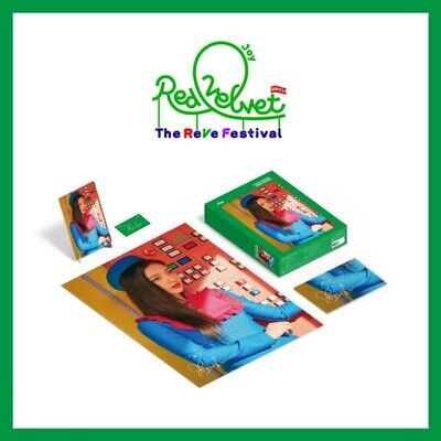 Red Velvet JOY Puzzle 1000 Pieces Package The REVE Festival Photocard+Poster