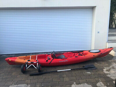 KAYAK PERCEPTION SCOOTER Gemini 2 seater with 2 paddles