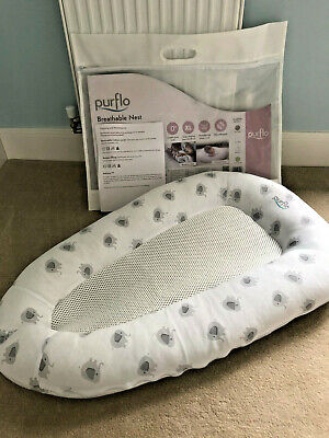 Purflo Breathable Baby Nest Elephant With Original Packing Combine Postage