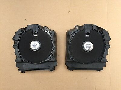 BMW 5 F07 Under Seat Subwoofers PAIR 9225830 9225831