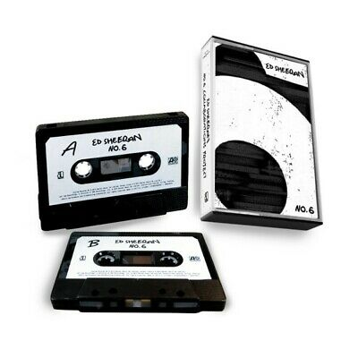Ed Sheeran No. 6 Collaborations Project Audio Tape (Compact Cassette) NEW+SEALED