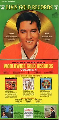 Elvis Presley Elvis' Gold Records Volume 4 Cd From The Rca 2016 Box Set !!