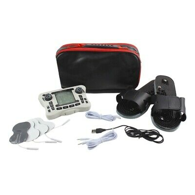 Dual Channel Output Tens Ems Pain Relief/Electrical Nerve Muscle Stimulator R5W4