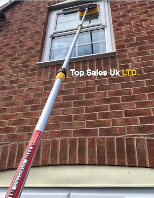 3.2 Meter Water Fed Window Cleaning Pole | Pole Squeegee Brush Equipment