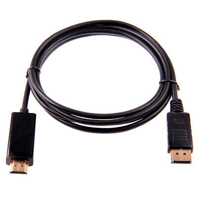 1.8M / 6FT 10FT DisplayPort Display Port DP Male to HDMI Male M/M Cable Ada T4C7