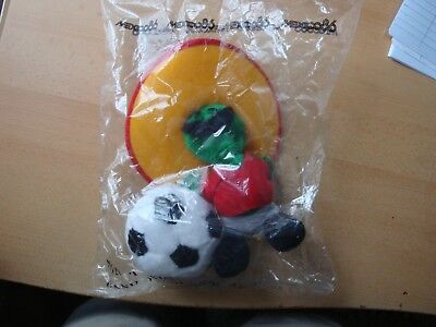 WORLD CUP MEXICO 1986 MESSICO '86 PLUSH Peluche Mascotte PIQUE SPORT BILLY