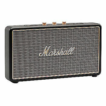 Marshall Stockwell 25W Portable Bluetooth Speaker - Black With Cover