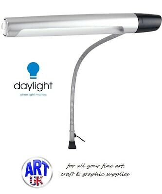 Daylight Professional Artists Designers Drafting Lamp 2 with Easel & Table Clamp