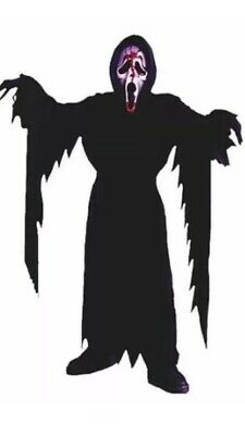 C682 Mens Licensed Ghost Face Scream Ghostface Scary Fancy Costume Robe Mask
