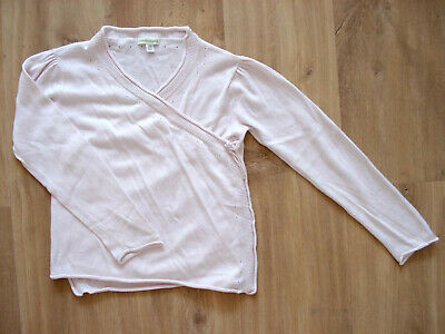 VERTBAUDET beautiful girl's pink cardigan in excellent condition – Size 8 yrs