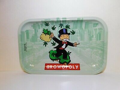 "10.8"" X 6.8"" Growopoly Smoke Arsenal Tray"