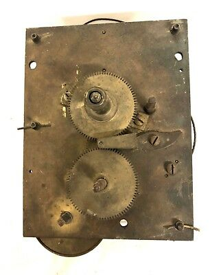 Single Fusee Clock Movement for Wall Clock for Restoration : Fusee TD01