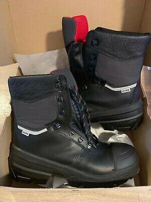 123316434f6 UVEX 8415/2 GORE-TEX Quatro Leather S3 Safety Work Boot Size 5 ...