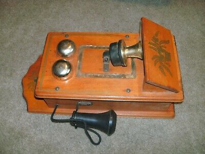 """Vintage Wall Telephone """"radio""""  Purchased In Yonkers, Ny Tested And Works"""