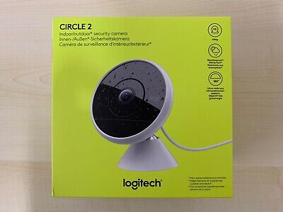 Logitech Circle 2 Indoor/Outdoor Wired Security Camera 1080P HD HomeKit #A21