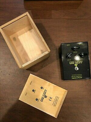 Electro-Harmonix Big Muff Pi Black Russian Distortion / Sustainer Effects Pedal