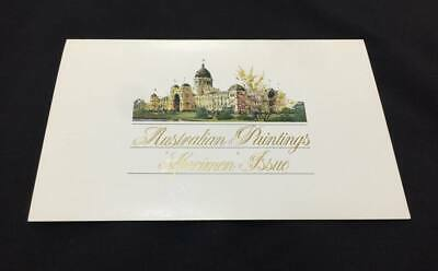 1984 Stamp Booklet Australian Paintings Specimen $2,$5 and $10