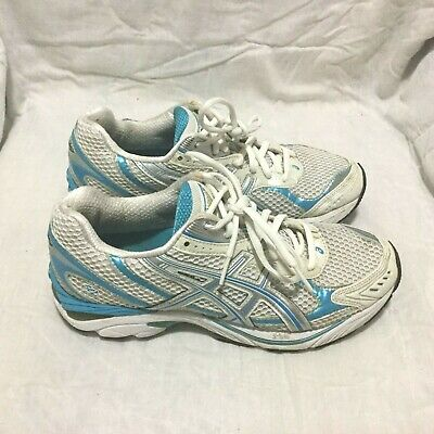 ASICS WOMENS RUNNING Shoes Size 8.5 GT 2150 Gel White Teal