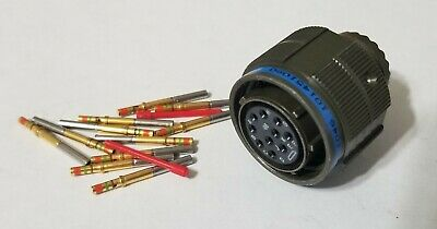 Circular Connector MIL Spec 10Pin MIL-DTL-38999 Amphenol D38999/26WC98SN NEW