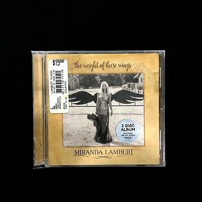 Miranda Lambert: The Weight of These Wings (CD, 2016)