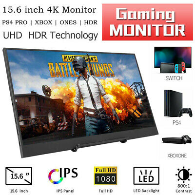 1366x768 Portable Display Monitor HDMI VGA Input Built-in Speakers with 3.5mm Earphone Port for PC,Laptop,Security Camera,PS4,PS3,Xbox,Switch,Raspberry Pi Koolertron 11.6 inch HDMI IPS CCTV Monitor