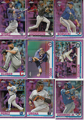 2019 Topps Chrome Parallel Refractor Pink TIM ANDERSON #186 White Sox