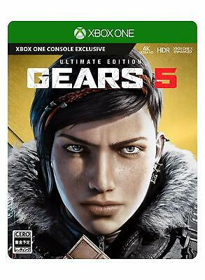 USED Xbox One Gears 5 Ultimate Edition JAPAN Microsoft XOne import Japanese game