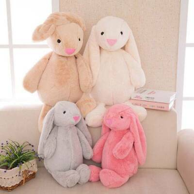 "12"" Cute Bunny Soft Plush Toy Rabbit Stuffed Animal Baby Kids Girl Animals Doll"
