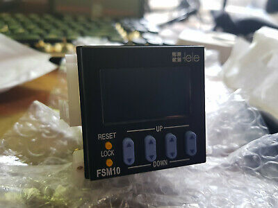FSM10 TELE Haase Digital Timer Relay Switch Panel-Mount