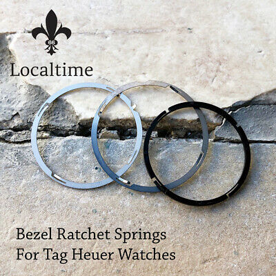 Swiss Replacement Ratchet Bezel Springs For TAG HEUER Watches In 3 Diameters