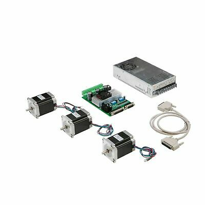 3axis Nema23 Stepper Motor 1.9N.m=270oz-in 3A&driver board TB6560 CNC Router KIT