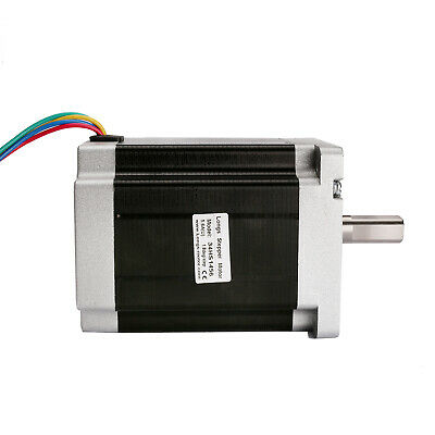 1PC Schrittmotor Stepper Motor Nema34 1.8° 4-wires 1232oz-in 5.6A Single Shaft