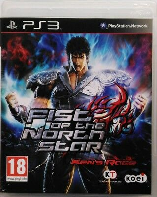 Game PS3 Fist of the North Star - Ken's Rage Sony PLAYSTATION 3 Used