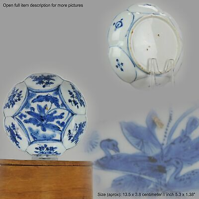 Antique Chinese Porcelain Plate 17th century Ming Dynasty Wanli / Tianqi...