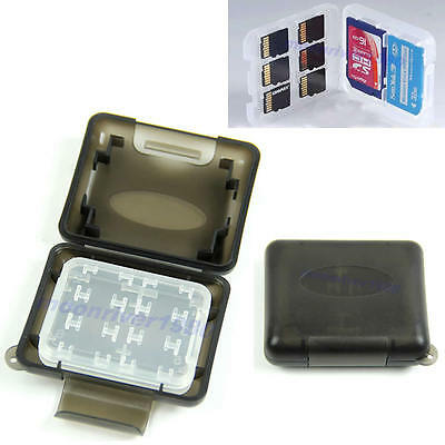 1PC Plastic Case For Micro SD TF Memory Card Storage Holder Box Protector