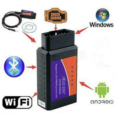 Mini ELM327 OBDII V2.1 Bluetooth Auto Car OBD2 Diagnostic Interface Scanner Tool