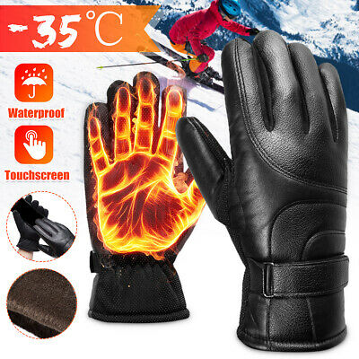 Winter Warm Thermal Glove Ski Snow Snowboard Cycling Outdoor Waterproof Mittens