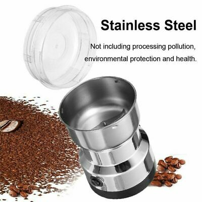 Electric Coffee Bean Grinding Grinder Stainless Herbs/Spices/Nut Milling Machine