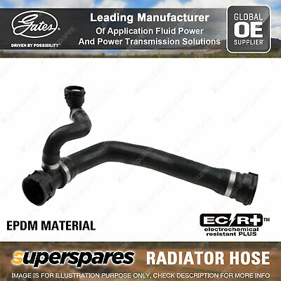 Gates Radiator Curved Hose For BMW 5 Series 545i 4.4L 245KW 10/2003-08/2005