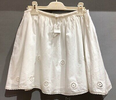 Bonpoint Full Broderie Anglaise Skirt RRP £140 Size: Age:10 BNWT