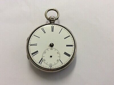 Small Silver Fusee Lever Pocket Watch, Thomas Hawley, 1848, Spares/repair only